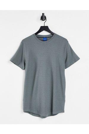 JACK & JONES Men Sets - Originals co-ord textured t-shirt in khaki