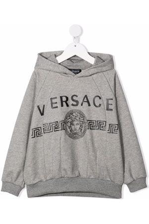 VERSACE Medusa-head print hoodie