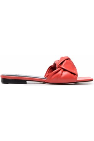 By Far Women Sandals - Leather-knot sandals