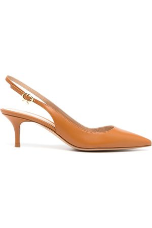 Gianvito Rossi Women Shoes - Pointed leather pumps