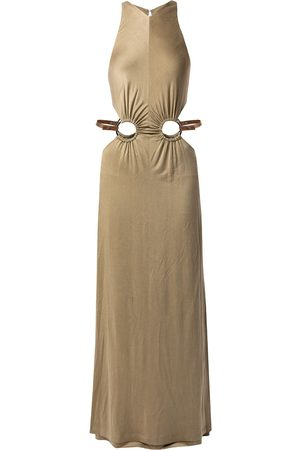 DION LEE Horse-bit detail dress