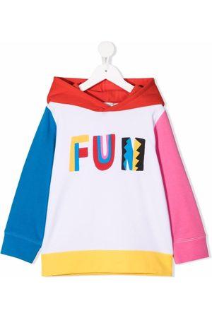 Stella McCartney Fun colour-block hoodie