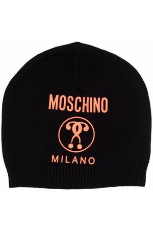 Moschino Double Question Mark knit beanie