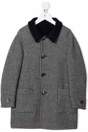 Brunello Cucinelli Houndstooth-pattern coat