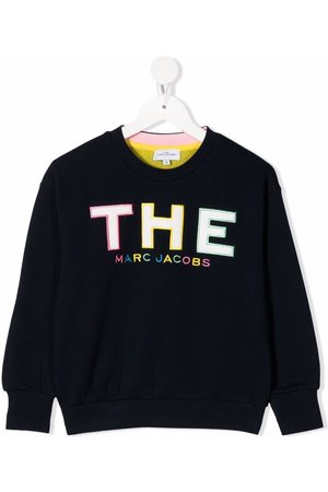 The Marc Jacobs Embroidered-logo cotton sweatshirt