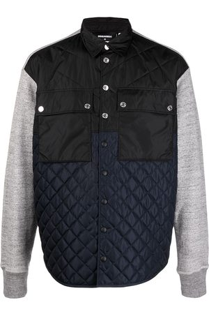 Dsquared2 Flap-pocket quilted jacket