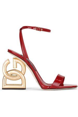 Dolce & Gabbana Logo heel open-toe sandals