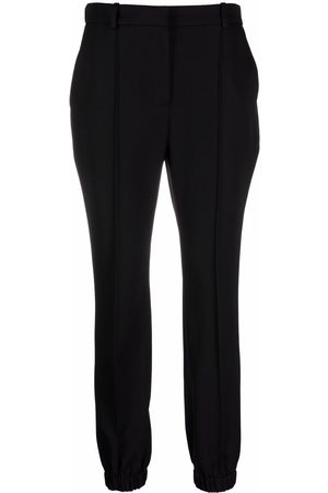 Alexander McQueen Slim-cut tailored trousers
