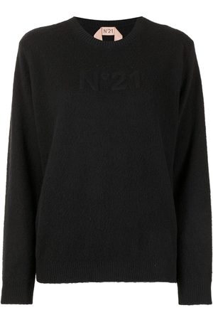Nº21 Embossed logo jumper