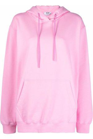 Msgm Oversized cotton hoodie