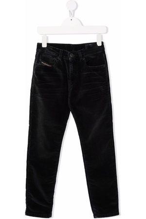 Diesel Mid-rise straight-leg trousers