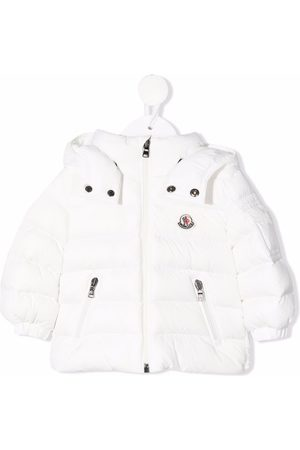 Moncler Hooded zip-up padded jacket
