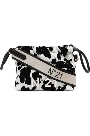 Nº21 Animal-print logo crossbody bag
