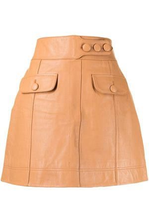 Alice McCall Low Rider leather skirt