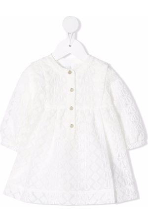 Chloé Embroidered buttoned dress