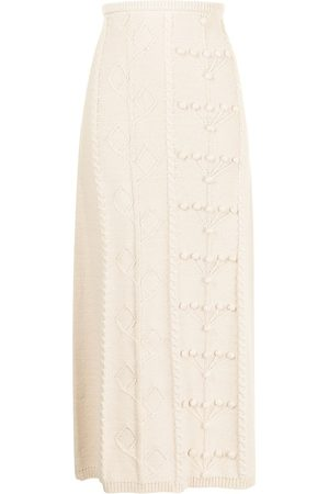 Alice McCall Songbird cotton knitted skirt