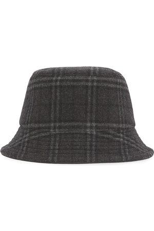 Burberry Check-print bucket hat