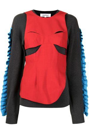 ENFÖLD Women Sweatshirts - Layered panelled sweatshirt
