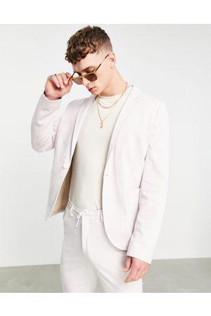 ASOS Super skinny suit jacket in jersey