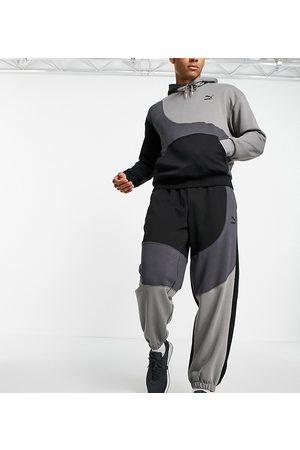 Puma Convey joggers in colourblock exclusive to ASOS