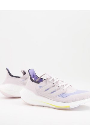 adidas performance Adidas Ultraboost 21 trainers in stone-Neutral