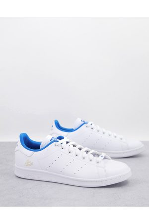 adidas Originals Stan Smith trainers in and blue