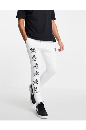 ASOS DESIGN Co-ord jogger with Disney Mickey Mouse gloss print in