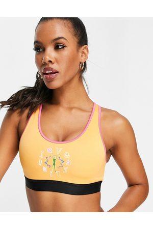 adidas performance Adidas Training Love Unites medium support sports bra top in