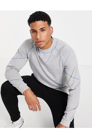jack & jones Core co-ord sweat with high neck & contrast stitch in