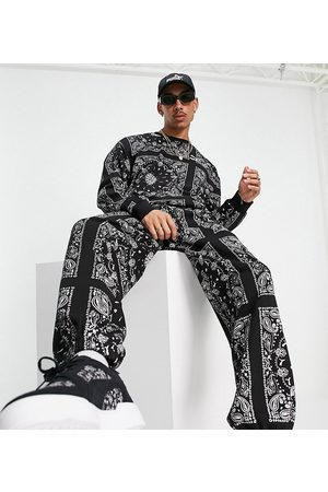 Puma Off beat paisley joggers in -exclusive to asos