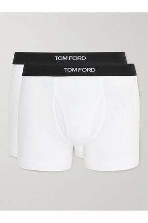Tom Ford Two-Pack Stretch Cotton and Modal-Blend Boxer Briefs