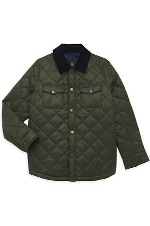Barbour Little Boy's & Boy's Quilted Shirt Jacket