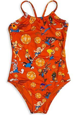 Vilebrequin x Space Jam Baby's, Little Girl's & Girl's One Piece Swimsuit
