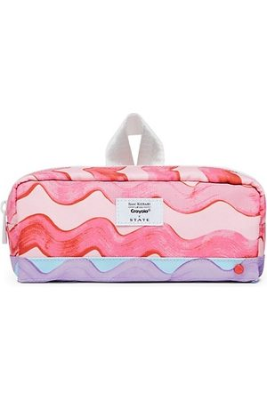 STATE Bags Bags - State x Isaac Mizrahi Love Crayola Clinton Pink Waves Pencil Case