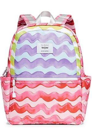 State Bags Rucksacks - State x Isaac Mizrahi Love Crayola Kid's Kane Pink Waves Backpack
