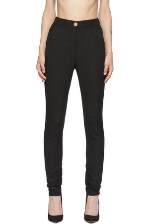 Balmain Wool Skinny-Fit Trousers