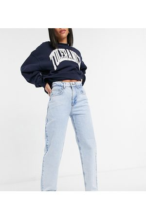 Reclaimed Vintage Inspired recycled blend 90's dad jean in super bleach sustainable wash