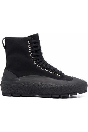 Jil Sander Lace-up hi-top sneakers