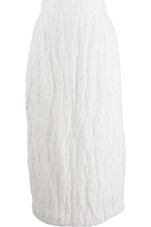 Khaite Mya textured skirt