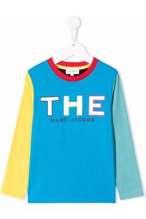 The Marc Jacobs Kids Colour-block logo T-shirt