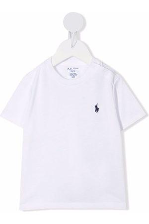 Ralph Lauren Kids Polo Pony logo cotton T-shirt