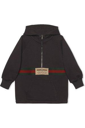 Gucci Kids House Web half-zip jacket