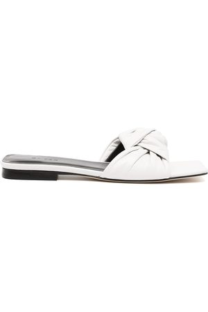 BY FAR Lima gloss sandals