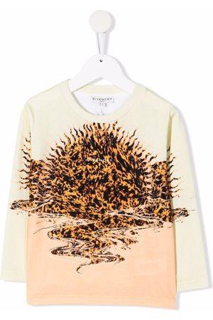 Givenchy Kids Abstract-print cotton T-Shirt