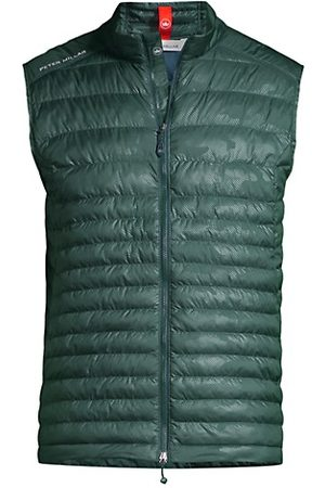 Peter Millar All Course Quilted Reflective Camo Vest