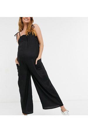 ASOS ASOS DESIGN maternity cami minimal pocket jumpsuit in
