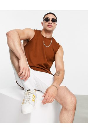 ASOS Knitted cotton vest in
