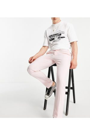 Reclaimed Men Pants - Inspired couture suit trouser in dusty