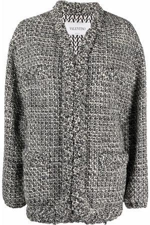 VALENTINO Women Ponchos - Braided-edge jacket