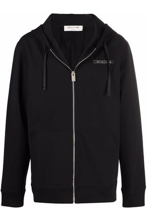1017 ALYX 9SM Men Sweatshirts - Logo-print zip-up hoodie